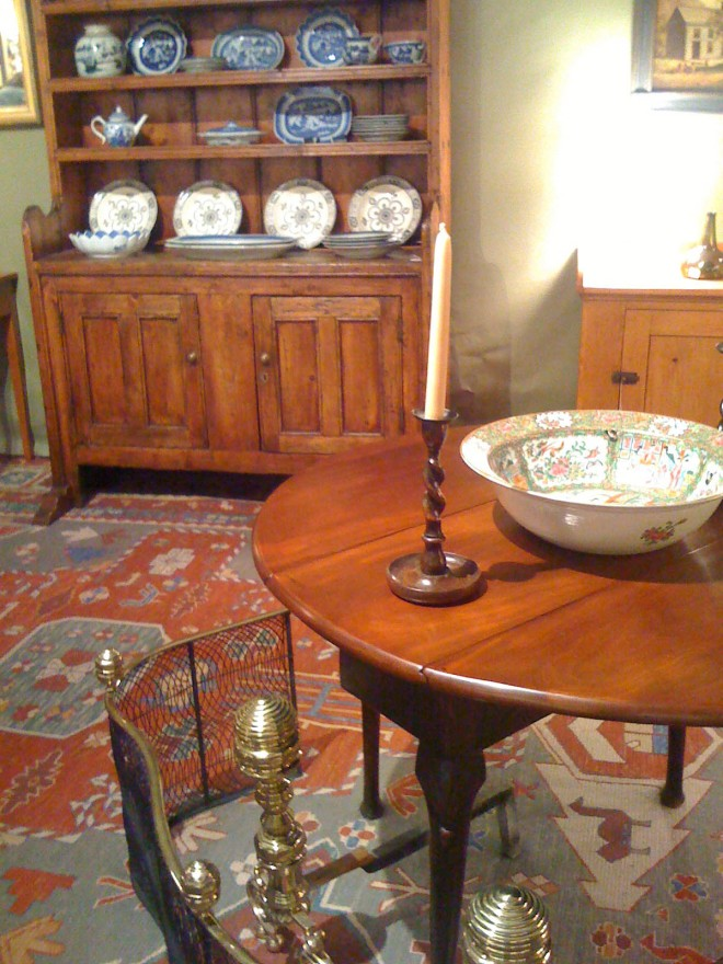 The Newport Antiques Show offers fine furniture and art for antique connoisseurs.