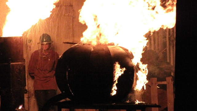 Providence Steel Yard Iron Pour