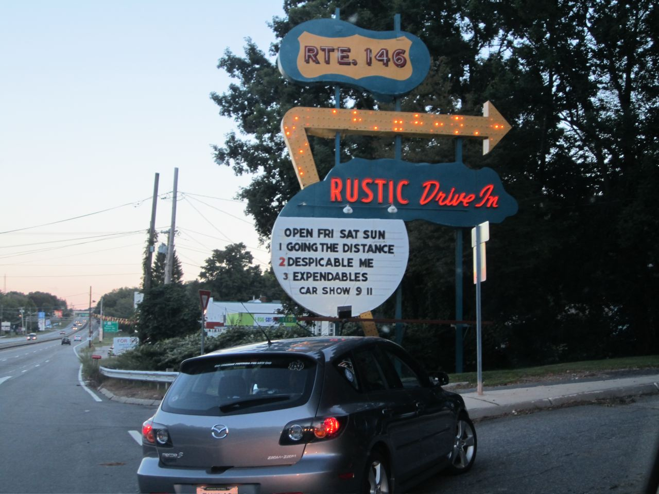 Rustic Tri View Drive In A Step Back In Time The Rhode