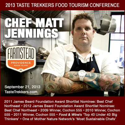 Farmstead Chef Matt Jennings will deliver the conference's keynote