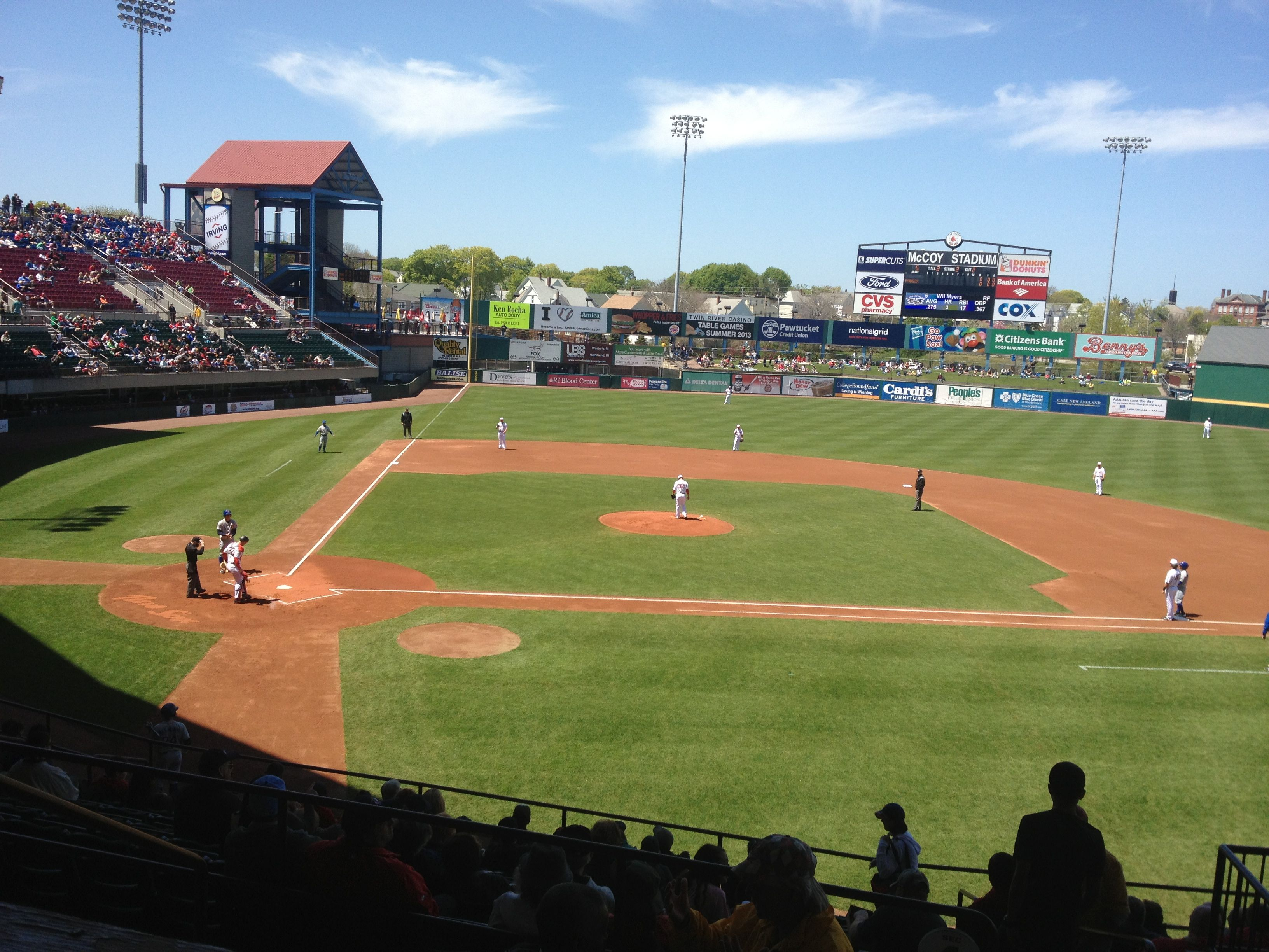 Pawtucket Red Sox At Mccoy Stadium The Rhode Less