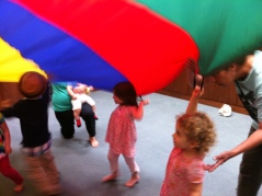 Who wouldn't love parachute play?