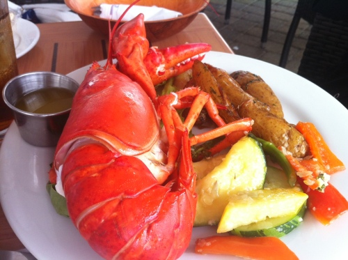 There's nothing quite like a plate of lobster.