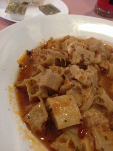 A bowl of tripe