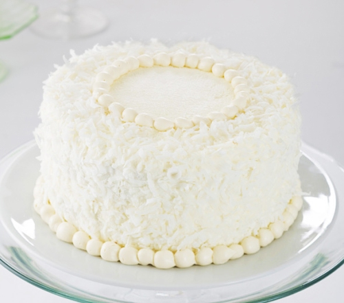 The Old-Fashioned Coconut Cake from Pastiche Fine Desserts.