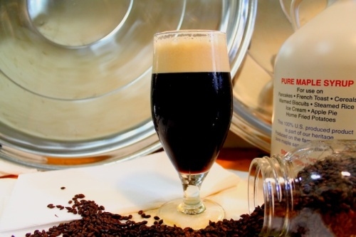 Bucket Brewery's Thirteenth Original Maple Stout combines a complex malt base, a healthy dose of maple syrup and an unusual blend of hops.