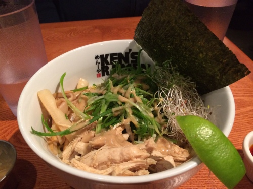 Ken's Ramen will cheer you up.